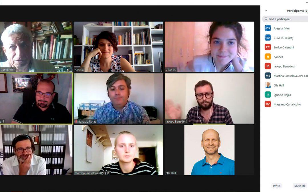 7 September 2020: FARMINFIN project meeting (virtual!)
