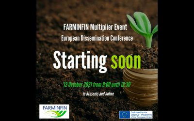 FARMINFIN European Conference coming soon: October 12th! Save the date & register!